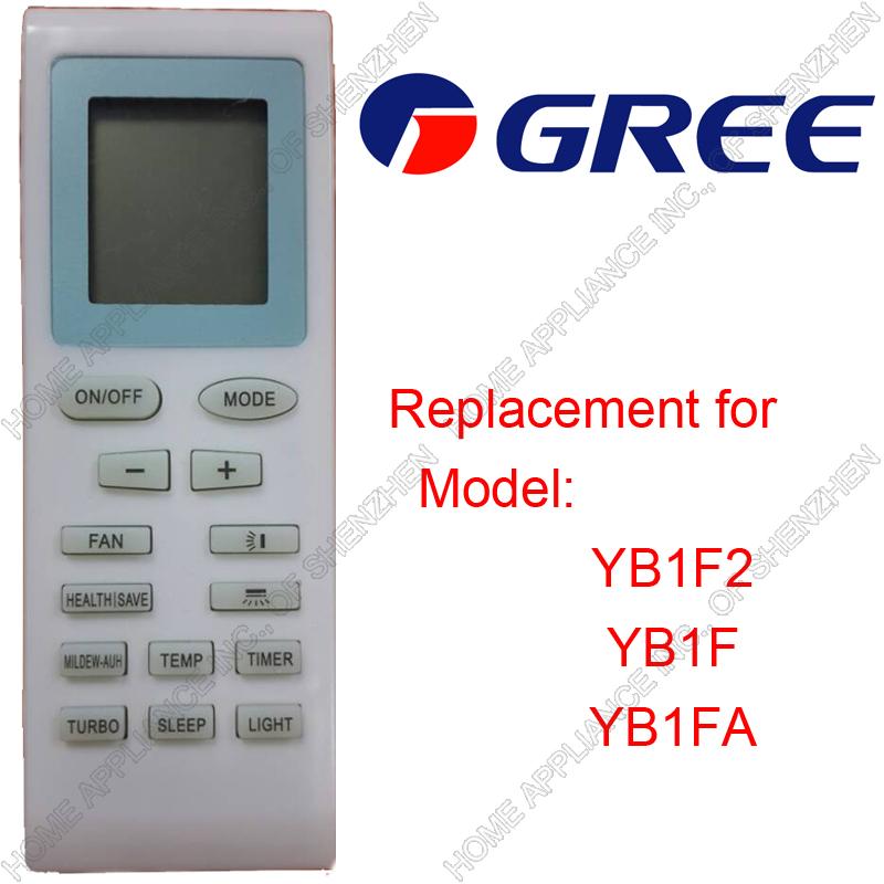 Гаджет  Free Shipping (4 pieces/lot) GREE\GE\TRANE\WESTINGHOUSE\MABE Split And Portable Air Conditioner Romte Control YB1F2 YB1F YB1FA None Бытовая техника