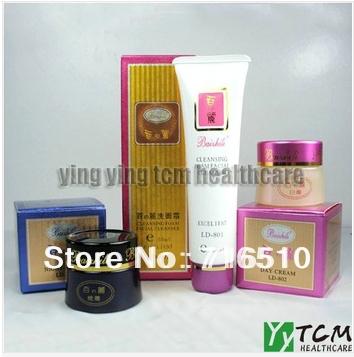 Original Baizhili Night cream+Day cream+cleanser whitening cream for face skin care<br><br>Aliexpress