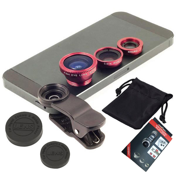 Universal Fish Eye 3 in 1 zoom Wide Angle Mobile Phone Lens Camera telephoto Macro for iphone4/4s/5/5c/5s/6/6puls/ SamsungS4/S6