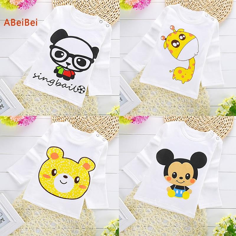 Cute cartoon T-shirt baby t-shirt infant clothes Spring autumn style Base shirt Backing shirt Undershirt for freeshpping(China (Mainland))