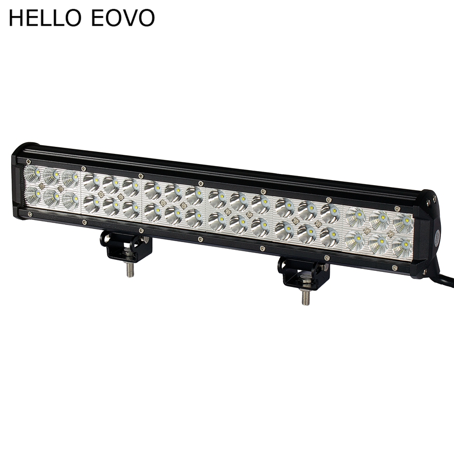 HELLO EOVO 17 Inch 108W LED Work Light Bar for Indicators Motorcycle Driving Offroad Boat Car Tractor Truck 4x4 SUV ATV 12V(China (Mainland))