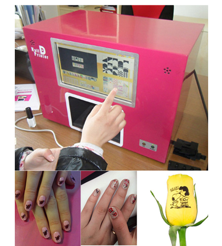 free shipping CE approved Computer build inside nail printer nail printing machine new updated 2016(China (Mainland))