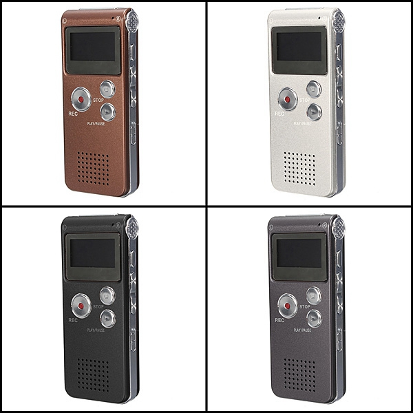 2015 New Arrival Portable Rechargeable Mini 8GB Digital Audio Voice Recorder Dictaphone MP3 Player(China (Mainland))