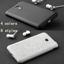 phone case For Meizu M2 Note High quality Ultra thin silicon hard Protect back cover for For Meizu m2 note Mobile phone housing