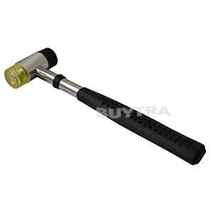 Drop Shipping 25mm Detachable hand Tool Hammers Multifuction Rubber Nylon Head Hammers B3(China (Mainland))