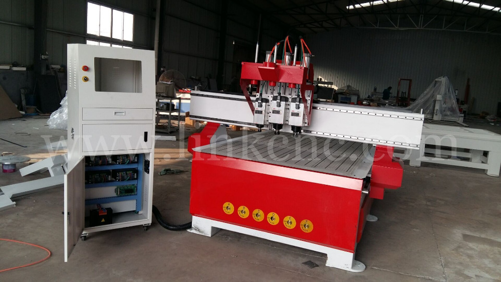 MDF 3D relief wood cnc router with vacuum table and dust collector system(China (Mainland))