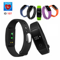 ID107 Bluetooth Smart Wristband Heart Rate Monitor Smart Band Fitness Tracker Bracelet For Android IOS VS