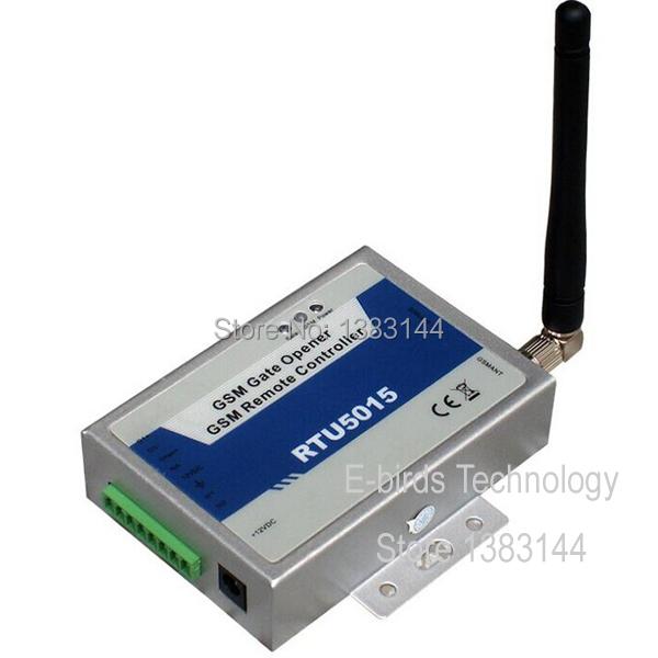 free shipping RTU5015  GSM Door Opener Gate Garage Operator Wireless SMS Remote Controller  <br><br>Aliexpress
