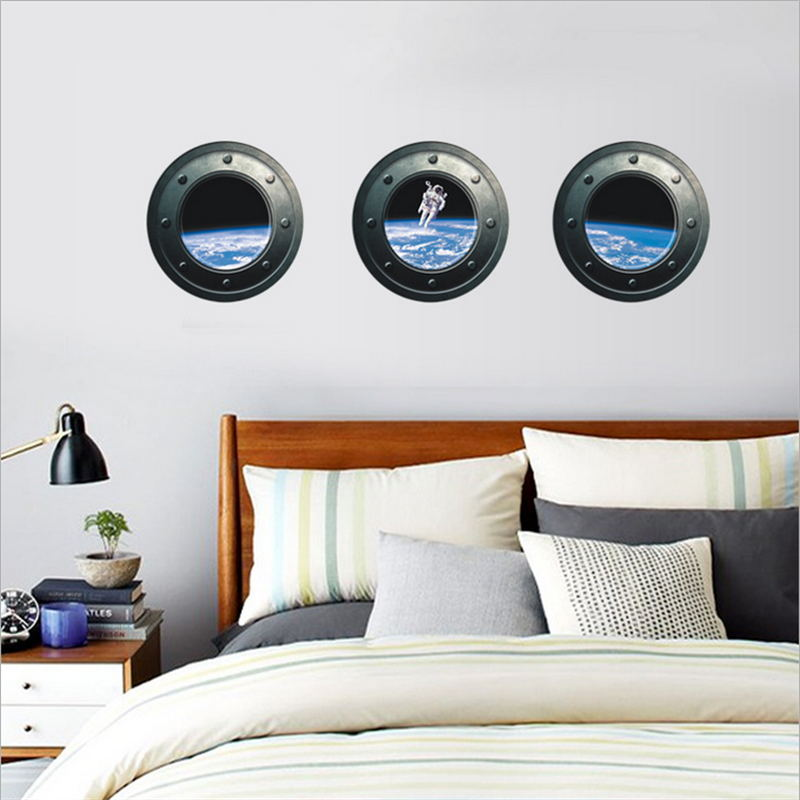 3d Simulation Creative Windows Scenery Outer Space