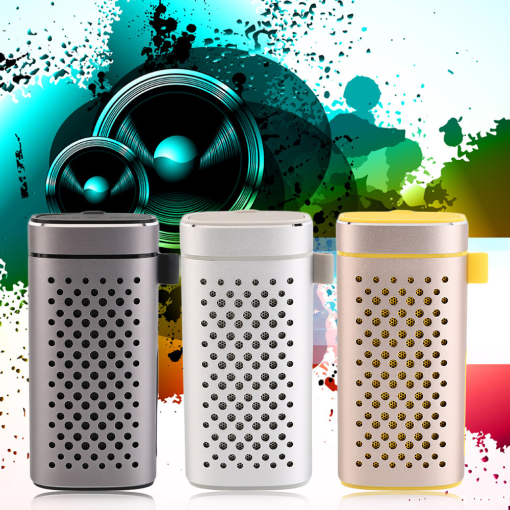 New Protable Wireless Bluetooth Speaker Power Bank 4400mAh Battery Charger Wholesale<br><br>Aliexpress
