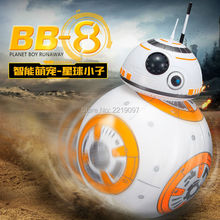 Buy Free BB-8 Ball Star Wars RC Action Figure BB 8 Droid Robot 2.4G Remote Control Intelligent Robot BB8 Model Kid Toy Gift for $23.22 in AliExpress store