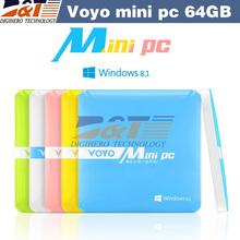 2015 New VOYO mini PC Intel Windows Quad core 2GB RAM 64GB ROM,windows8.1 mini pc computer for smart office(China (Mainland))
