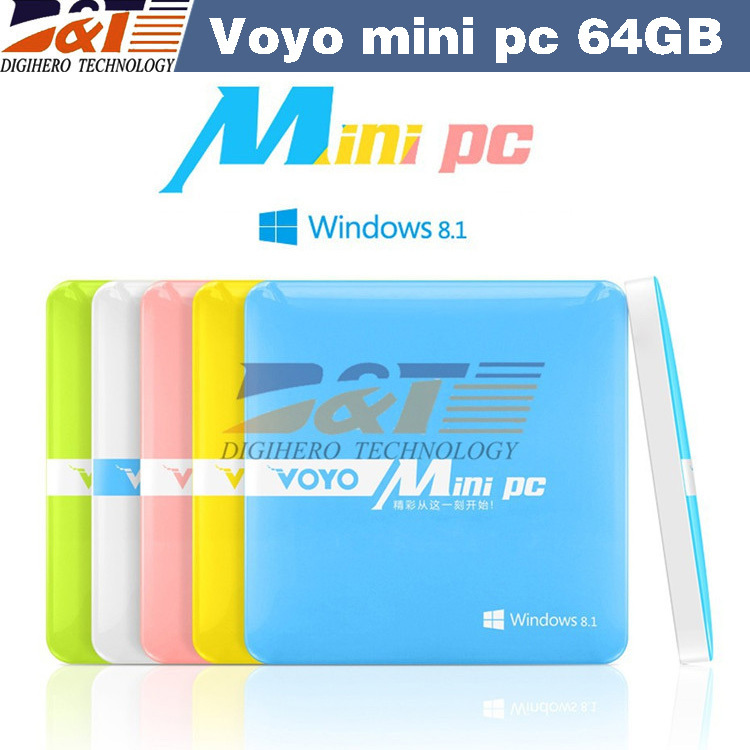 2015 New VOYO mini PC Intel Windows Quad core 2GB RAM 64GB ROM,windows8.1 mini pc computer for smart office(China (Mainland))