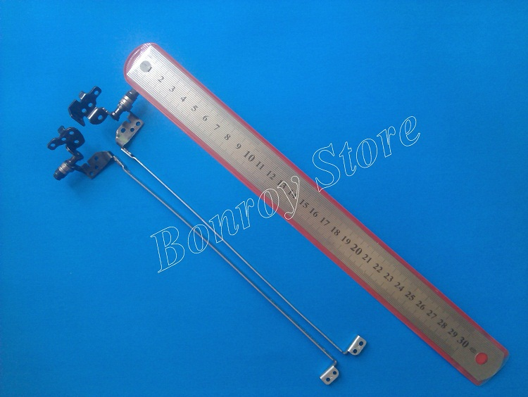 Genuine wholesale Price For HP G6 G6-1000 G6-1100 G6-1200 G6-1300 Notebook Lcd Screen Hinges Kit 100% New (10 pairs/Lot)(China (Mainland))