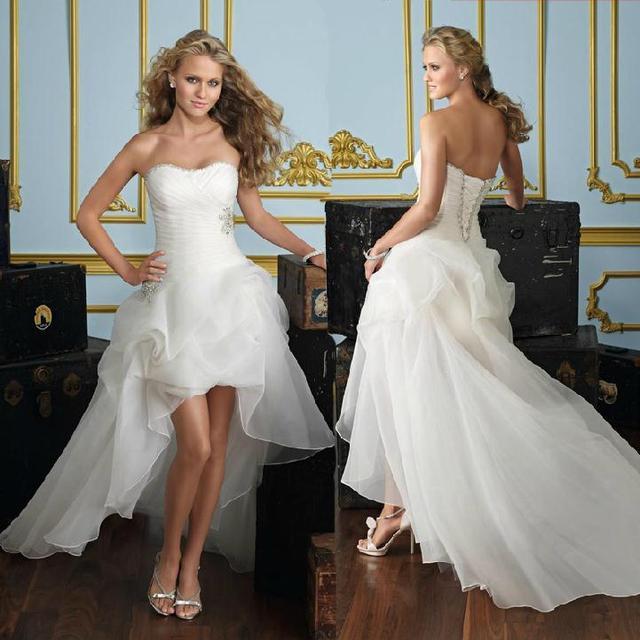 Бесплатная доставка 2016 новая линия рукавов суд поезд белого атласа свадебное платье ...