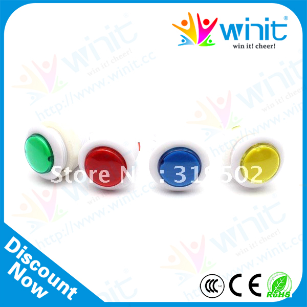 Push button switch(Four colors are available)(China (Mainland))