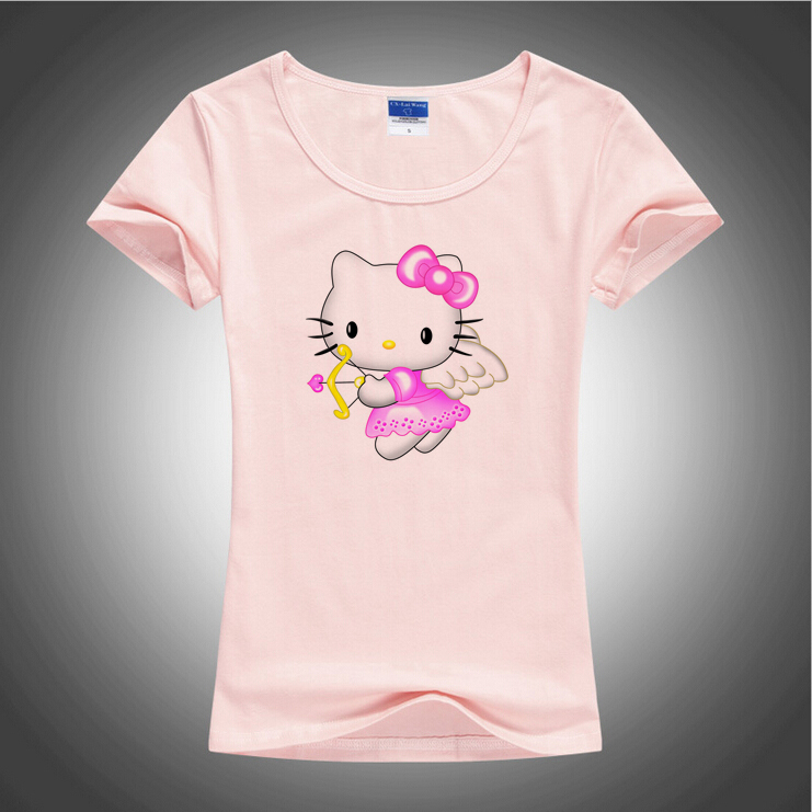 Buy bgtomato cupid hello kitty cartoon t for Successful t shirt brands