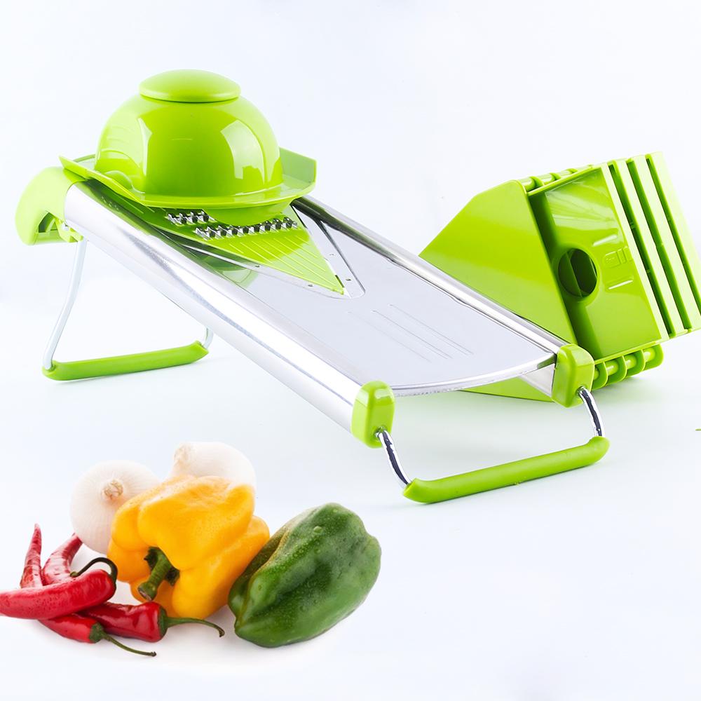 V-blade Mandoline Slicer with 5 Stainless Steel Blade for Slicing Vegetable Onion Slicer Vegetable Cutter(China (Mainland))