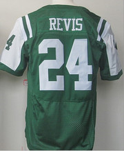 #24 Darrelle Revis Jersey,Free Shipping Excellent quality,Sport Jersey,Embroidery Logo,Size M--3XL,American Football Jersey(China (Mainland))