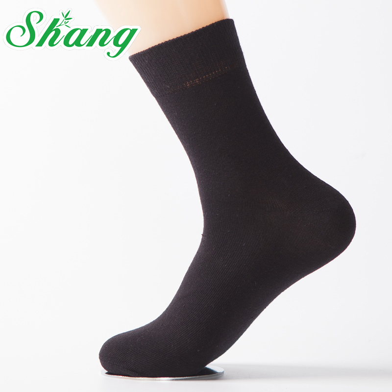 Shang brand men Combed cotton socks business men's pure cotton socks men's elite casual socks LQ-38(China (Mainland))