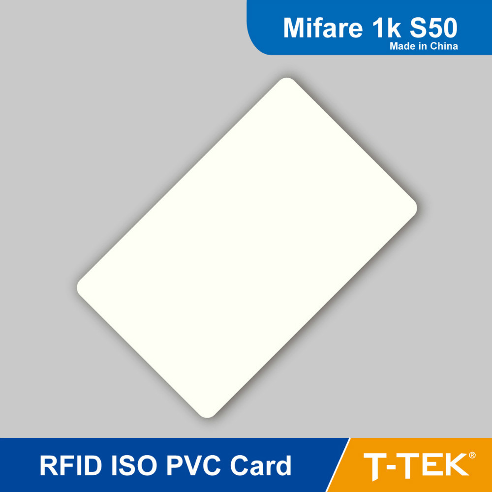 RFID ISO PVC Card, NFC proximity card, RFID Tag ISO14443A 13.56MHz (HF) for access control, MF 1K S50 Chip Free Shipping(China (Mainland))