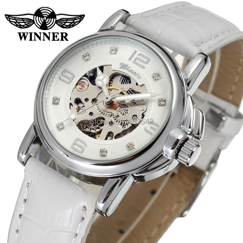 Winner Women s Watch Newest Design Watches Lady Top Quality Watch Factory Shop Fashion Wristwatch Color