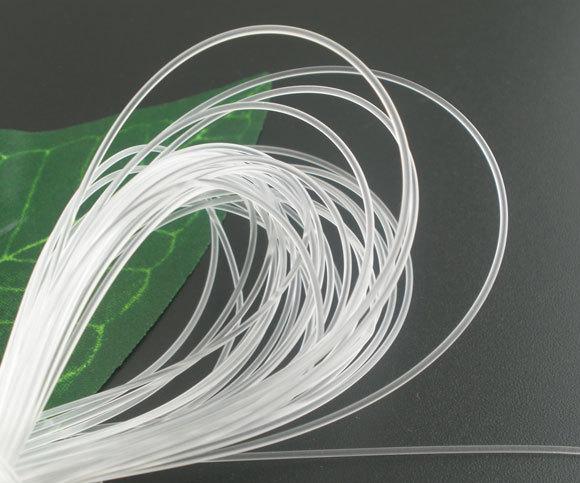 50M DIY White Nylon Jewelry Beading Thread String Cord 1mm Dia.(China (Mainland))