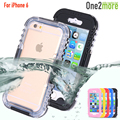 Multi function Silicon Waterproof Case For iPhone 6 4 7 inch Dirt Proof Heavy Duty Hybrid