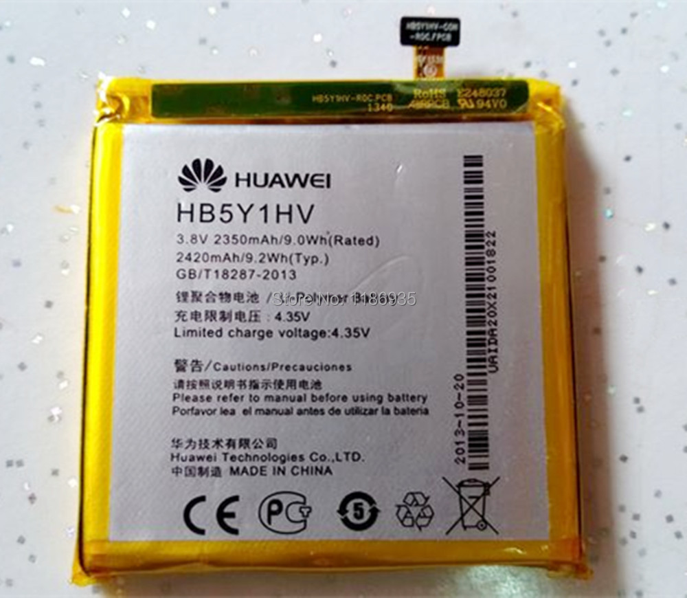 100% Original Huawei Ascend P2 Battery Huawei HB5Y1HV / HB5Y1V 2420mAh Battery Track Number + In Stock(China (Mainland))