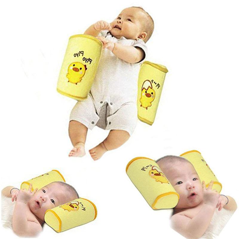 Высокое качество желтый ребенок шеи защитника, сторона спящий про подушку,