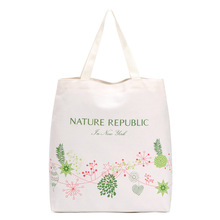 Eco Storage Italian Handbag big large Cotton Fabric Shopping Bags Beautiful Reusable Bag