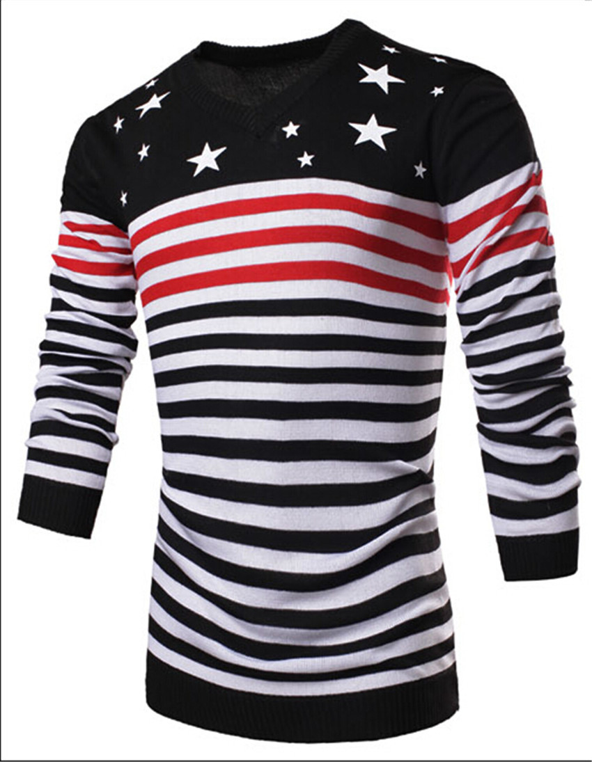 2015 new men t shirt fashion quality stars and stripes o for Long t shirt trend