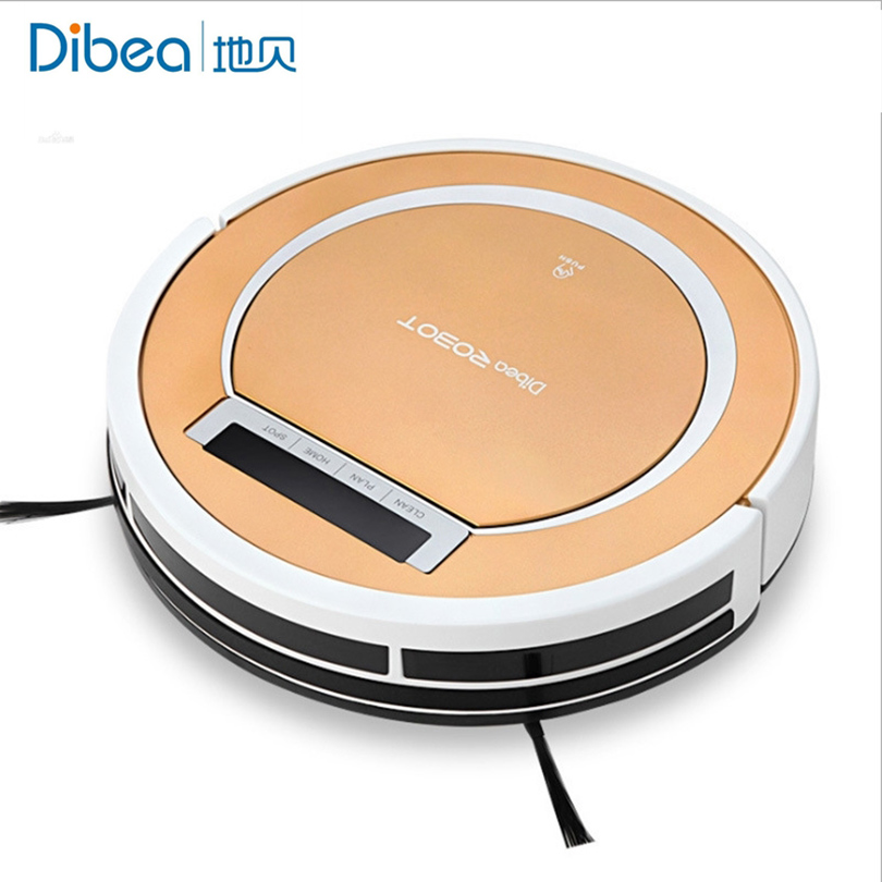 Robot vacuum cleaner Promotion mother's gifts remote control Intelligent sweeper Household Dibea v700(China (Mainland))