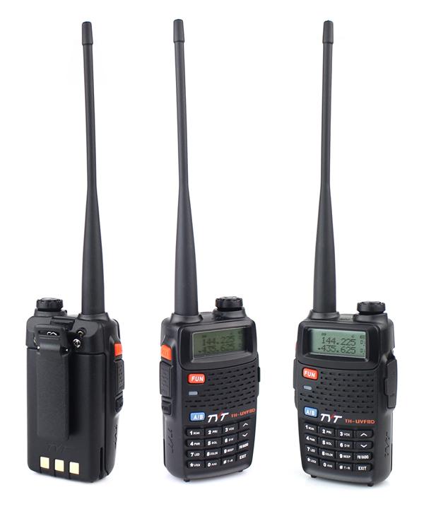 New TYT TH UVF8D Radio Walkie Talkie UHF VHF 400 520MHz 136 174MHz 7W 256 CH