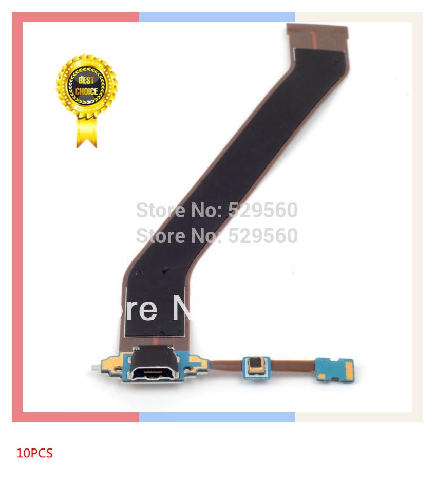 Оригинальный микро-зарядки порт Flex кабель для Samsung Галактики Tab 3 10.0 P5200 10шт