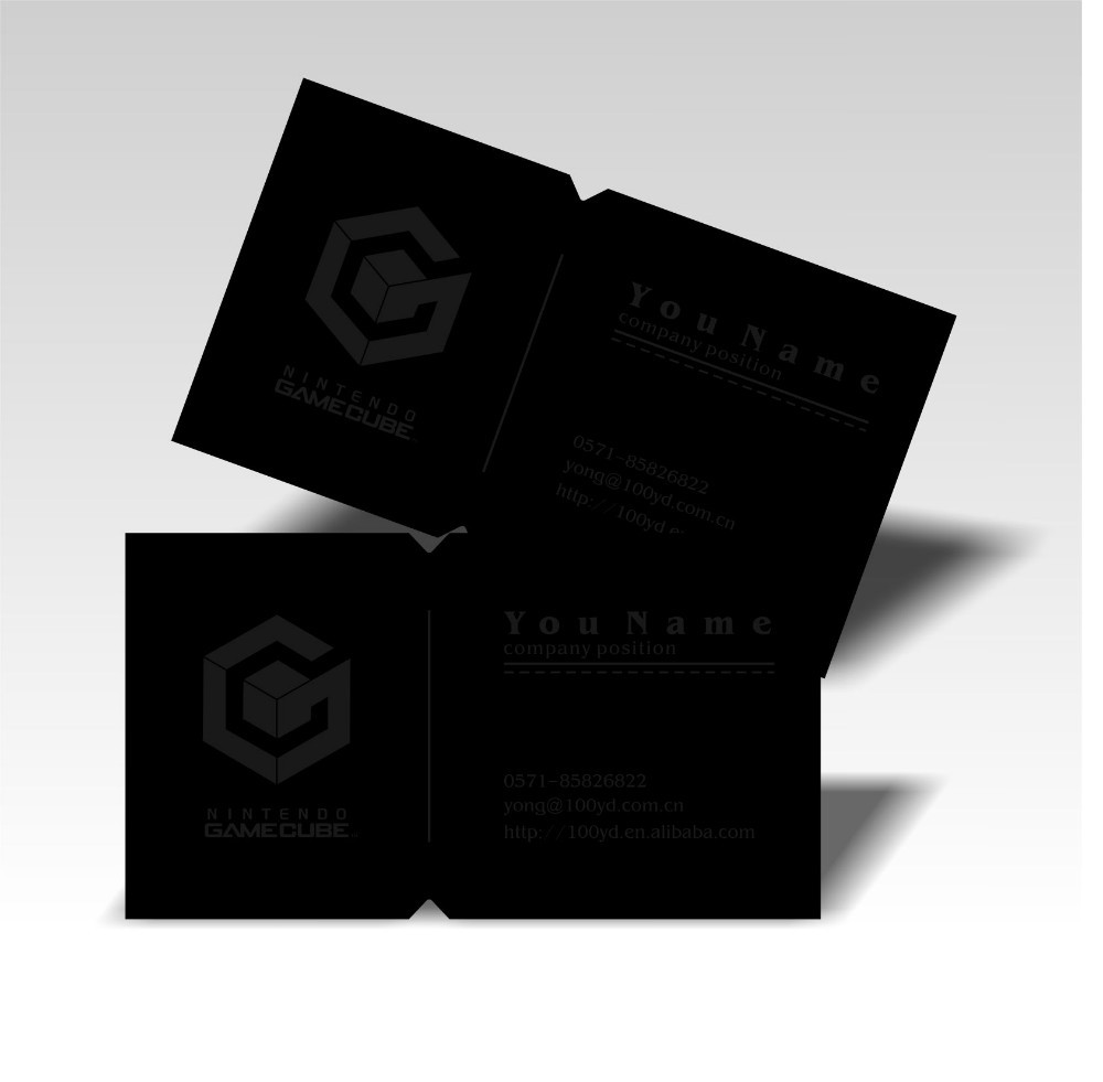 Hot Exquisite Design Die Cutting Customized Business Cards Logo Print Black Card Visit Card Cost-Efficient 350gsm Good Service<br><br>Aliexpress