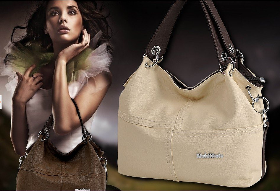 New 2015 Retro Vintage Women's Leather Handbag Tote Trendy Shoulder Bags Messenger Bag Cross body bag Bolsas Free shipping(China (Mainland))