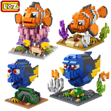 Buy LOZ Diamond Building Blocks Finding Nemo Toys Animal Series Model DIY Assemble Toys Classic Children Learning & Education Toys for $6.55 in AliExpress store