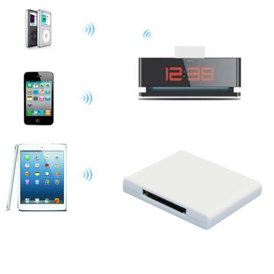 Best Price Bluetooth A2DP Audio Music Receiver Bluetooth Dongle USB For iPhone 30 Pin Dock(China (Mainland))