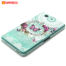 Buy Karribeca design tpu cover sony xperia Z3 compact silicone case capinha funda coque kryty carcasas capa etui hoesje custodia for $3.56 in AliExpress store