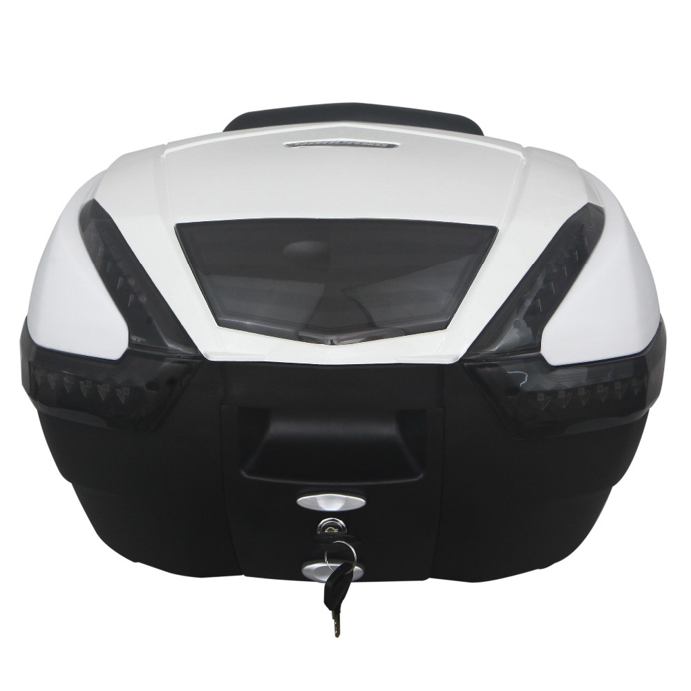 WLH 38L E-62 motorcycle tail box electric bicycle trunk scooter top case(China (Mainland))
