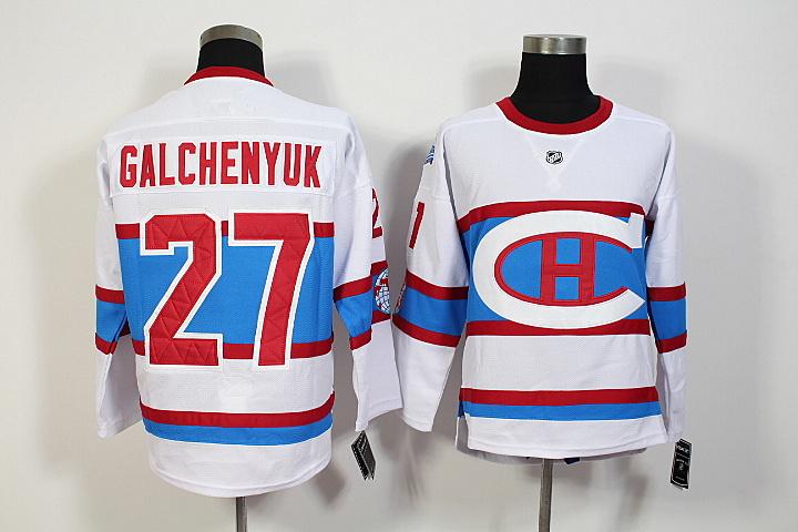 2016 Winter Classic Montreal Canadiens Artemi Panarin Jersey #27 Alex Galchenyuk Home stitching High quality Ice Hockey Jerseys(China (Mainland))