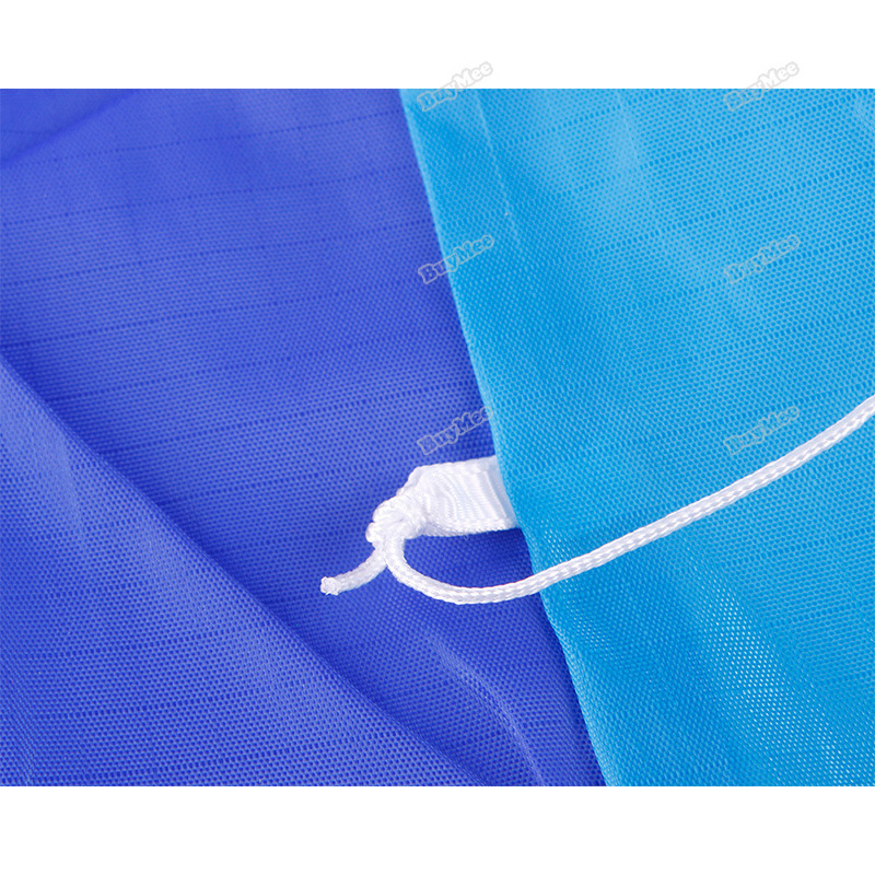 trad new fashion brand! Outdoor Dual Line Stunt Parafoil Parachute Rainbow Sport Beach Kite hottest(China (Mainland))