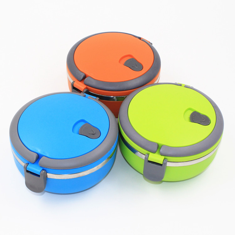 Bento Box 1Pcs Stainless Steel Lunch Box For Kids Preservation Insulation Food Storage Container Picnic Bento Box 5ZCF094(China (Mainland))