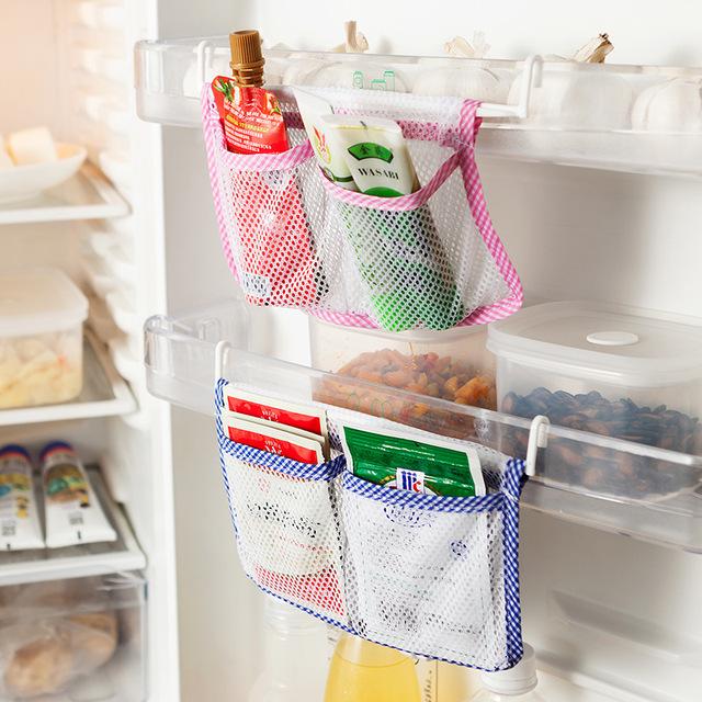 Практическая Холодильник Мешок С Крюком Кухня Хранения Организатор