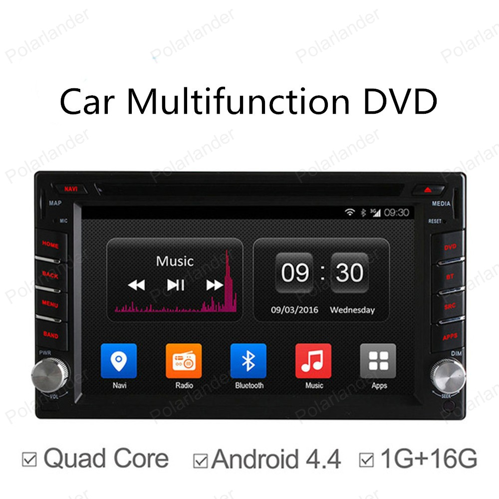 6.5in Quad Core car DVD Android 4.4 for Car Radio 2 Din GPS NAVI RADIO BT 800*480 support DAB+ TPMS DVR(China (Mainland))