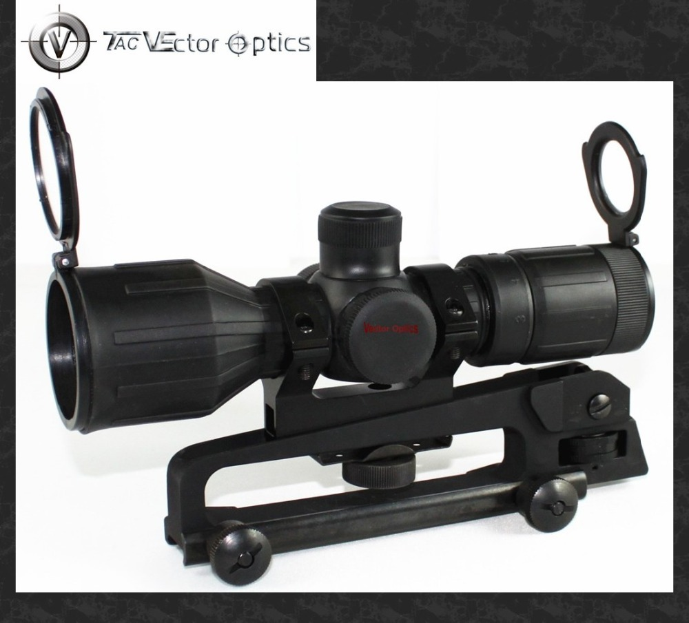 Vector Optics Mutalisk 3-9x40 Hunting Compact Rubber Cover Carry Handle Rifle Scope Mil-dot Reticle with Mount Ring(China (Mainland))