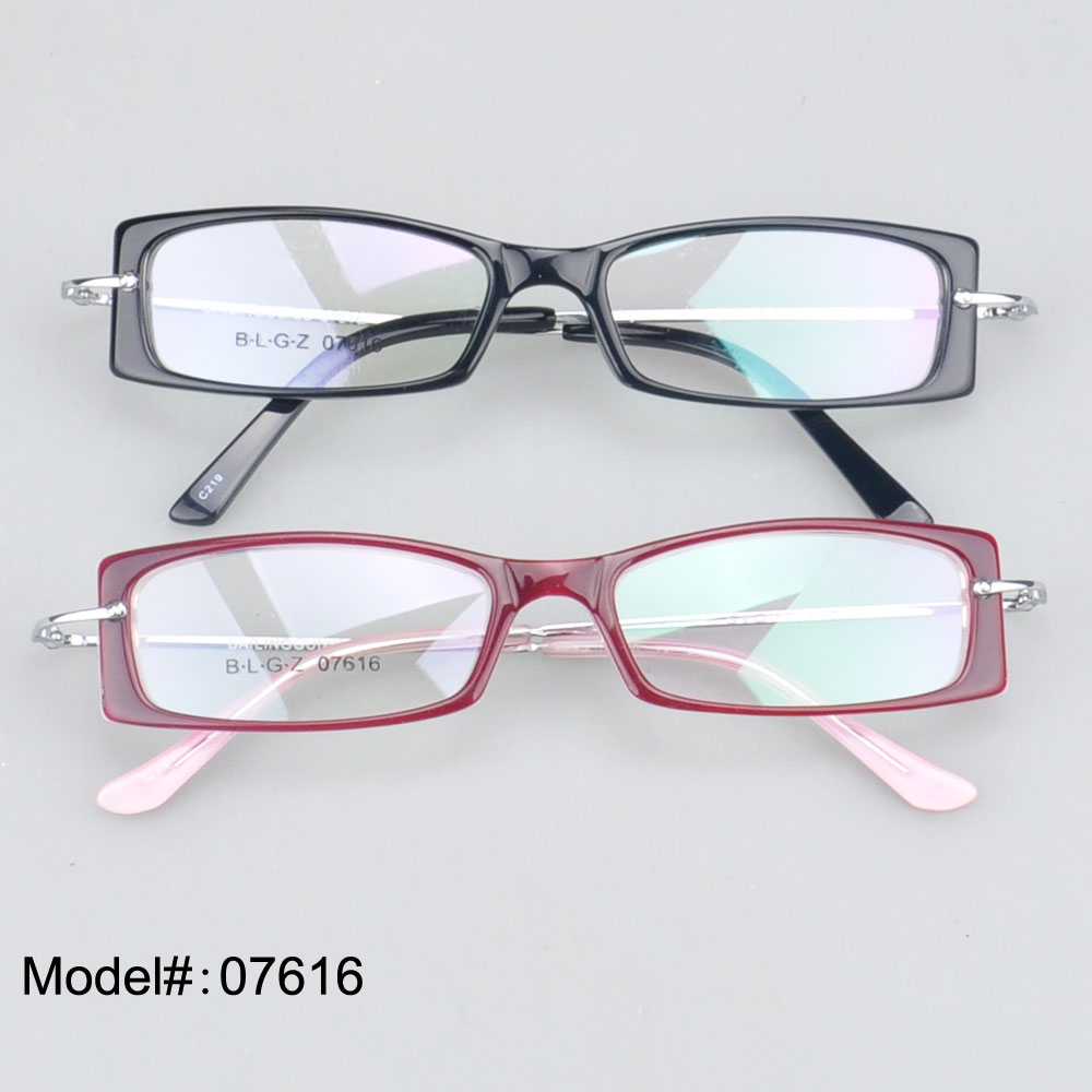 7616 High Quality personality glasses rull rim for woman ...