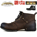 Men s boots fashion martin genuine leather shoes