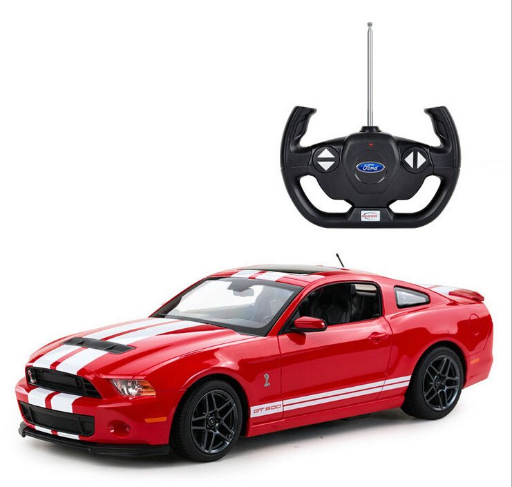 New Year Gift Rastar 49400 1/14 Mustang GT500 RC Car Classic Roadstar Need For Speed Model Drift Toy For Car Fans Electric Race(China (Mainland))